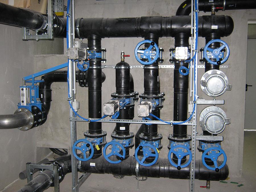Biogasanlage-Innenverrohrung
